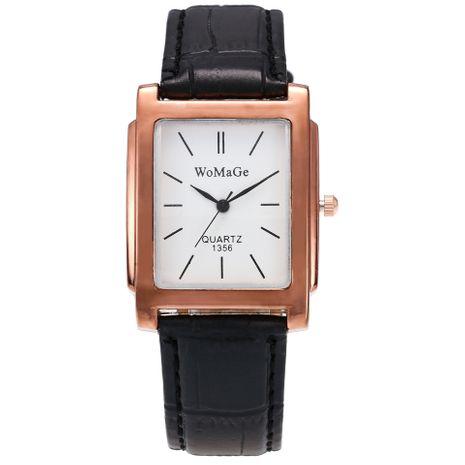 cinturón de moda reloj de cuarzo con cinturón rectangular de estilo británico NHSS265276's discount tags