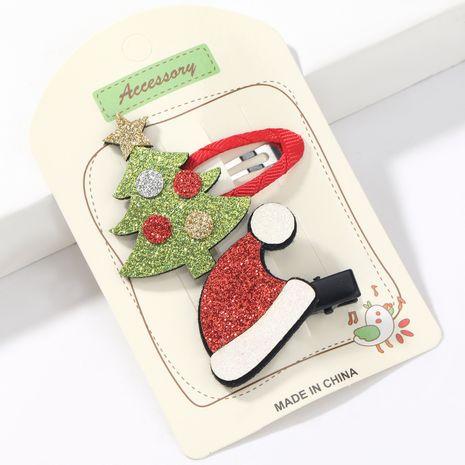 Chapeau de sapin de Noël en flanelle de série de Noël NHJE265310's discount tags