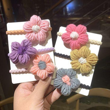 jolie corde à cheveux fleuri NHSA265320's discount tags