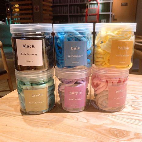 Ensemble de grandes anneaux de serviette coréen simple couleur bonbon NHSA265335's discount tags