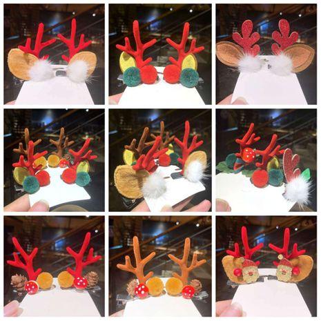 Ensemble d'épingles à cheveux en bois de Noël mignon NHSA265336's discount tags