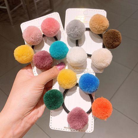 Anneau de cheveux boule simple couleur coréenne en gros NHSA265338's discount tags