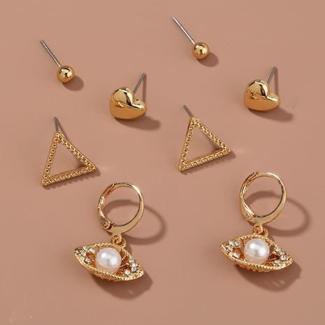 fashion simple  earrings set  NHAN265409's discount tags