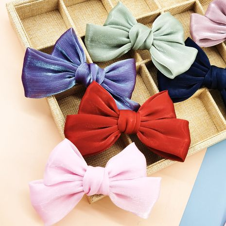 Korea new  bow  simple hair clip  NHDQ265446's discount tags