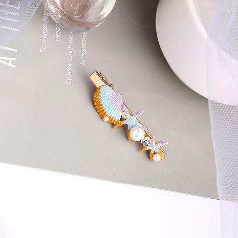 Koreanische Mode Seestern Muschel Haarnadel NHQD265458's discount tags