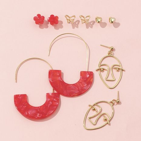 hot head alloy earrings set for women NHQC265836's discount tags