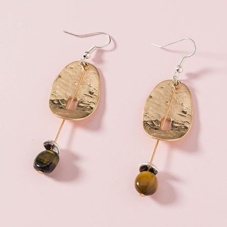 new   Korean natural stone earrings NHAN265491's discount tags