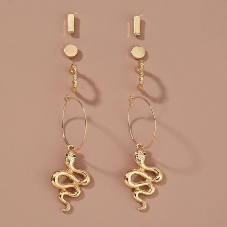 new fashion  simple geometric snake-shaped earrings  NHAN265487's discount tags