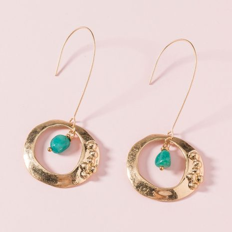 exaggerated wild long round  earrings NHAN265493's discount tags