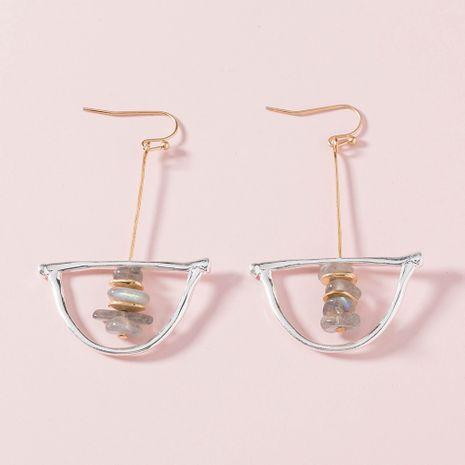 Korea  geometric natural stone earrings  NHAN265495's discount tags