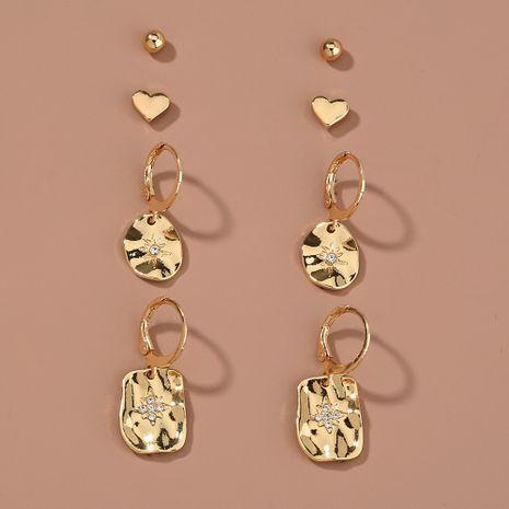 simple  metal C-shaped sky star earrings  NHAN265499's discount tags