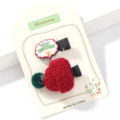 Weihnachtsserie Watte Rotkäppchen Mädchen Haarnadel NHJE265552's discount tags