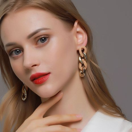 Punk style long exaggerated  earrings NHDP265587's discount tags