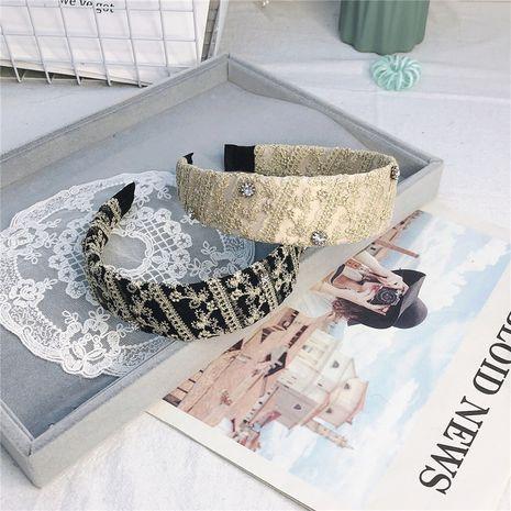 Bandeau de mode en strass incrusté de dentelle de Corée NHRH265609's discount tags