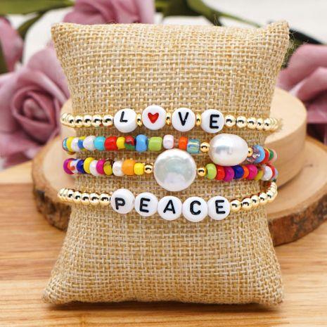 Bracelet de perles d'eau douce naturelles baroques NHGW265657's discount tags