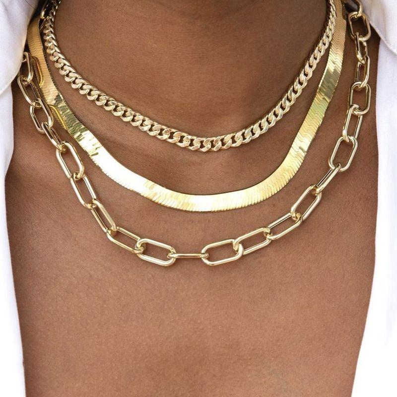 new multi-layer women's  popular necklace  NHAJ265870