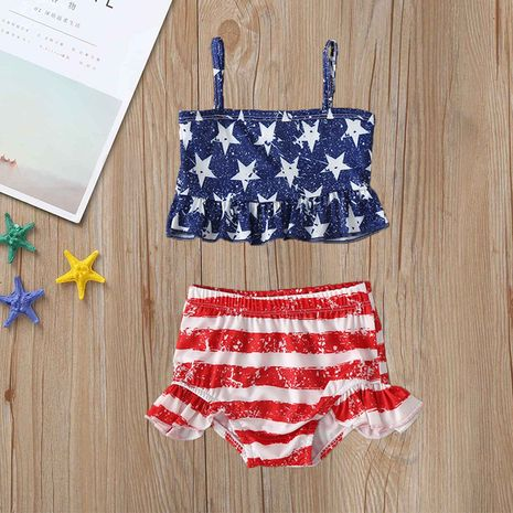 new fashion  independence day children's  swimwear  NHLF265939's discount tags