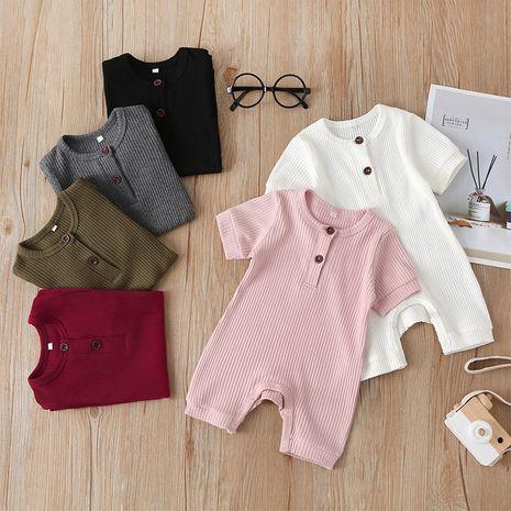 Mono para bebé, mameluco de manga corta, ropa de salida NHLF265947's discount tags