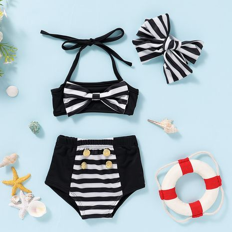 new fashion simple   toddler  swimsuit  NHLF265991's discount tags