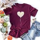 Fashion new casual love daisy short sleeve womens Tshirt hotselling NHSN266067