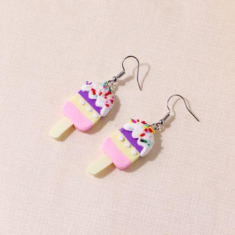 new  fashion personality resin creative mini ice cream earrings  NHQC266400's discount tags