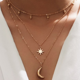 new moon pendant necklace NHOT266387