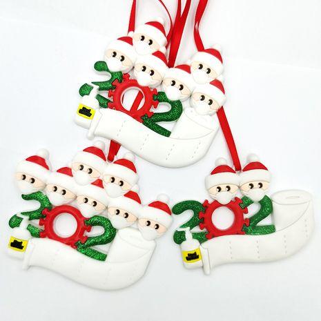 new  Santa Claus survivor PVC soft  snowman keychain NHDI266318's discount tags