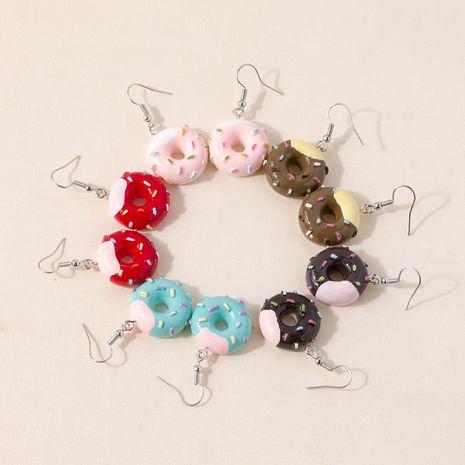 new  fashion  creative simulation dessert doughnut earrings  NHQC266340's discount tags
