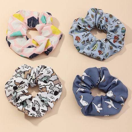 Chouchous de cheveux floraux en mousseline de soie NHAU266409's discount tags