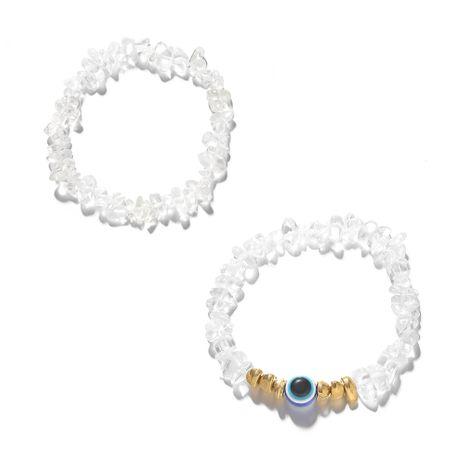 Creative Blue Demon Eye Guardian Couple Bracelet Wholesale NHJQ266483's discount tags