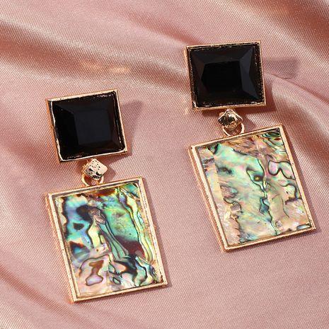 nouvelles boucles d'oreilles d'amour de coquille d'ormeau de mode NHNZ266578's discount tags