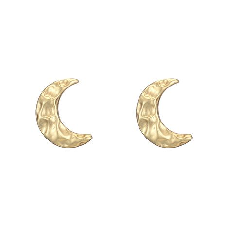 hot selling  new alloy moon earrings  NHOA266605's discount tags