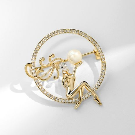 fashion goddess  sexy elegant brooch  NHPP266626's discount tags