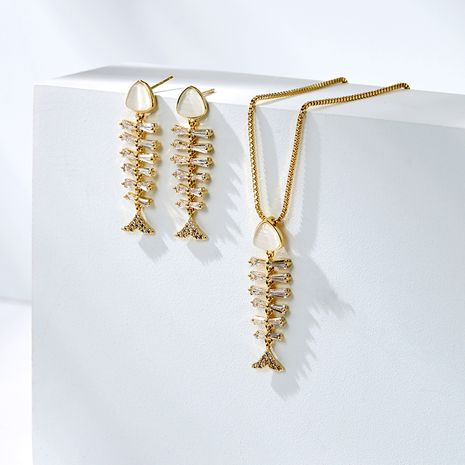 925 silver needle fish bone exaggerated sexy simple and elegant earrings NHPP266632's discount tags