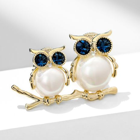 Cute fashion owl  elegant  brooch  NHPP266637's discount tags