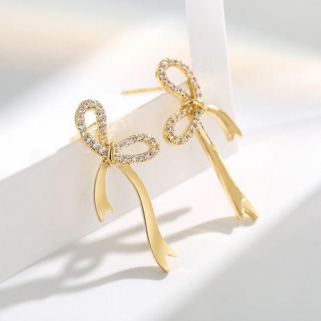 s925 arc aiguille d'argent brillant boucles oreilles sexy simples NHPP266651's discount tags