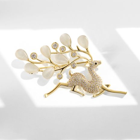 Fashion bright deer elegant brooch  NHPP266653's discount tags