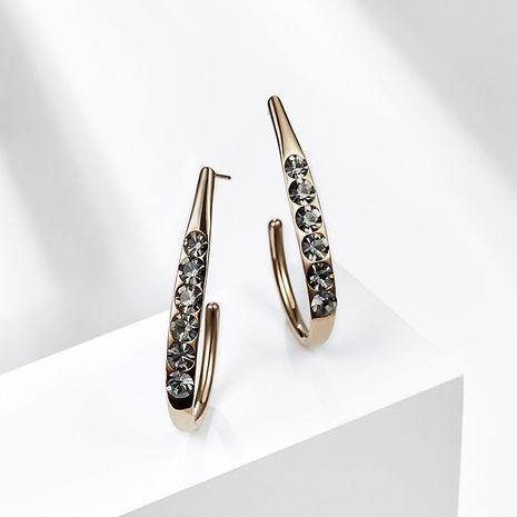 Boucles oreilles simples à aiguille en argent 925 géométrique de style rétro NHPP266686's discount tags