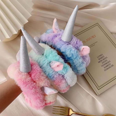 joli bandeau de lavage de visage licorne coloré simple NHDQ266739's discount tags
