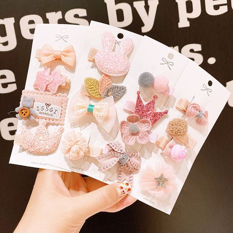 Baby cute hairpins set NHDQ266740's discount tags