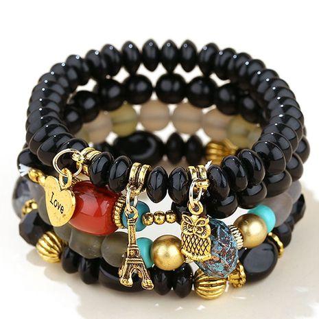 tendance de la mode simple pendentif multi-pendentif en métal polyvalent perles de bonbons bracelet multicouche NHSC266769's discount tags