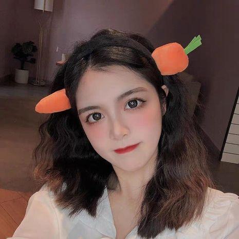linda zanahoria tiburón gracioso diadema coreana simple NHCQ266804's discount tags
