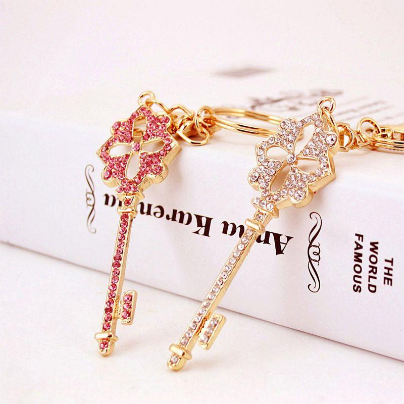 Korean creative cute diamond crystal keychain  NHAK266954