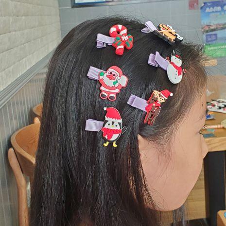 Weihnachtsdekoration niedlichen gebrochenen Haar BB Clip Seite Pony Mädchen Haarspangen heißen Verkauf NHDI267015's discount tags