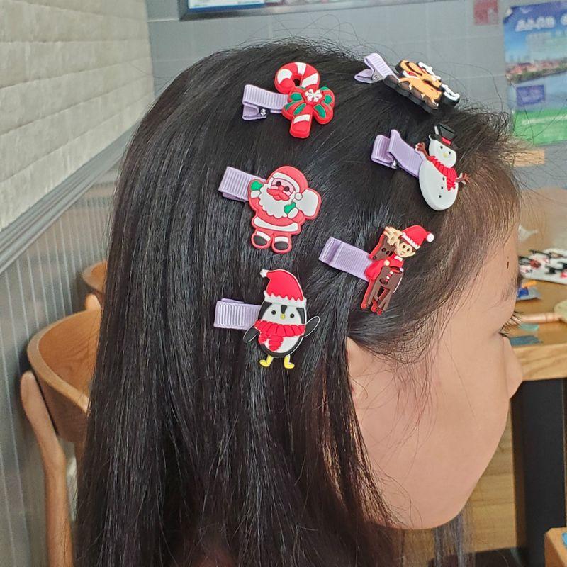 Christmas decoration cute broken hair bb clip side bangs girls hair clips hot sale NHDI267015