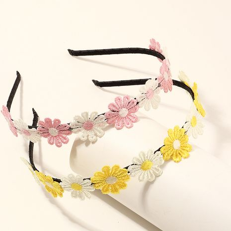 Korean  daisy flower headband set NHNU267019's discount tags