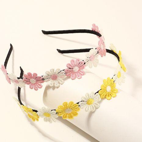 Korean  daisy flower headband set NHNU267019's discount tags