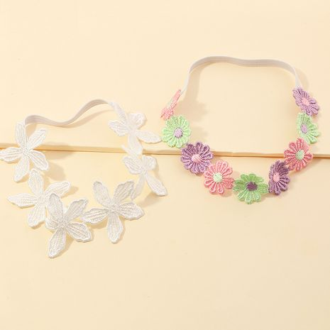 Korean  lace daisy necklace wild choker sweet flower clavicle collar  NHNU267024's discount tags