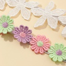 Korean  lace daisy necklace wild choker sweet flower clavicle collar  NHNU267024
