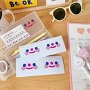 Core mignon nuage visage souriant dessin anim simple tudiant scellant filles coeur autocollant de cahier NHZE267035